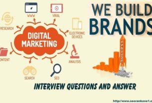 Digital Marketing Interview Questions