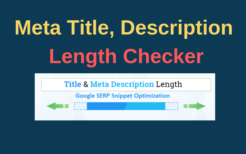 Meta Description Length Checker