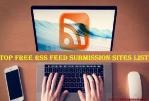 RSS Feed Submission Sites