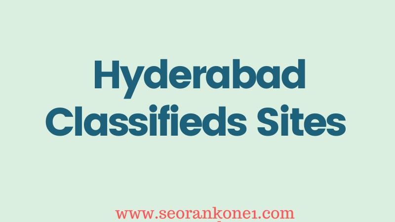 Hyderabad Classifieds Sites