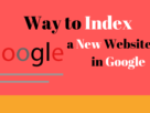 Way To Index A New Website In Google