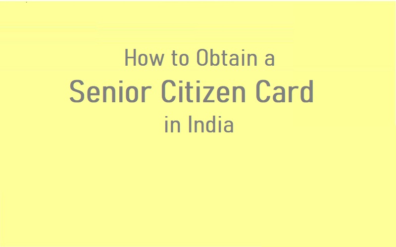 Senior Citizen Card